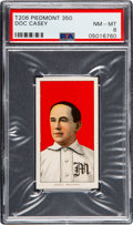 Baseball Cards:Singles (Pre-1930), 1909-11 T206 Piedmont 350 Doc Casey PSA NM-MT 8 - Pop Two, None Higher! ...