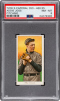 Baseball Cards:Singles (Pre-1930), 1909-11 T206 Sweet Caporal 350-460/25 Addie Joss (Pitching) PSA NM-MT 8 - Only One Higher! ...