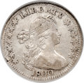 Early Half Dimes, 1800 H10C LIBEKTY, V-2, LM-3, R.4, VF35 NGC. The R...