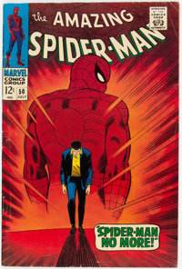 The Amazing Spider-Man #50 (Marvel, 1967) Condition: VG+