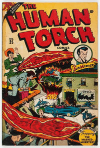 The Human Torch #25 (Timely, 1946) Condition: Incomplete