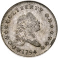 Early Half Dollars, 1794 50C O-105a, T-3, R.5 -- Improperly Cleaned -- NCS. FineDetails....