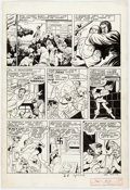 Original Comic Art:Panel Pages, Harvey Artist Speed Comics