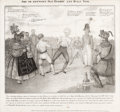 Political:Posters & Broadsides (pre-1896), Andrew Jackson: 1834 Anti-Bank Cartoon. ...