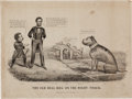 Political:Posters & Broadsides (pre-1896), Abraham Lincoln: 1864 Currier & Ives Political Cartoon. ...