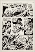 Original Comic Art:Panel Pages, Dave Gibbons Doctor Who Weekly #3 (10-31-79) Story Page 3Original Art (Marvel UK, 1979)....