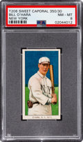 Baseball Cards:Singles (Pre-1930), 1909-11 T206 Sweet Caporal 350/30 Bill O'Hara (New York) PSA NM-MT 8 - Pop One, None Higher! ...