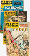 Golden Age (1938-1955):Classics Illustrated, Classics Illustrated First Editions Group of 64 (Gilberton,1947-62) Condition: Average FN.... (Total: 64 Comic Books)