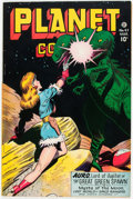 Golden Age (1938-1955):Science Fiction, Planet Comics #47 (Fiction House, 1947) Condition: Apparent FN-....