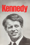 Political:Posters & Broadsides (1896-present), Robert Kennedy: Scarce, Large Poster....