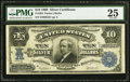 Large Size:Silver Certificates, Fr. 304 $10 1908 Silver Certificate PMG Very Fine 25.. ...