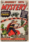 Silver Age (1956-1969):Superhero, Journey Into Mystery #83 (Marvel, 1962) Condition: GD-....
