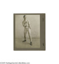 Boxing Collectibles:Memorabilia, Circa 1905 Abe Attell Cabinet Photograph. When boxing historian discuss who was the greatest fighter pound for pound in ring...
