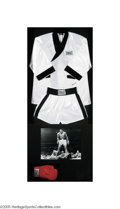 "Boxing Collectibles:Autographs, Massive Muhammad Ali Multi-Signed Shadowbox Display. Simplyenormous (40x84"") plexiglass shadowbox pays suitable tribute to..."