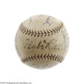 Autographs:Baseballs, 1927-28 New York Yankees Team Signed Baseball with G.C. Alexander.We'll never know the complete history of this exquisite ...