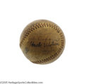 Autographs:Baseballs, 1929 Chicago Cubs Team Signed Baseball. With Hall of Fame talent like this, it's little surprise that the Chicago Nationals...