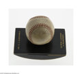 """Autographs:Baseballs, 1941 New York Yankees Team Signed Baseball from Christy Walsh. The classiest of executive desk accessories. """"Dr. C.J. Barb..."""
