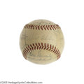Autographs:Baseballs, 1955 Brooklyn Dodgers Team Signed Baseball. It's the great David and Goliath story in baseball. The Yankees represented th...