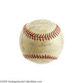 Autographs:Baseballs, 1961 New York Yankees Team Signed Baseball. Mickey Mantle oncecalled it the finest baseball club he'd ever seen, and there...