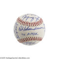 Autographs:Baseballs, 1971 St. Louis Cardinals Team Signed Baseball Dating to Gibson'sNo-Hitter. The Hall of Fame right-hander Bob Gibson posted...