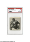 "Football Cards:Singles (Pre-1950), 1948 Bowman Kenny Washington #8 PSA Mint 9. The ""Jackie Robinson offootball,"" Washington was the first African-American si..."
