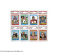 Football Cards:Sets, 1971 Topps Football Complete Set (263). The first Topps football issue to feature yearly statistics on the verso. A total ...
