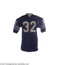 Football Collectibles:Uniforms, 1973 O.J. Simpson Game Worn Jersey from Record 2,000 Yard Season. We'll be the first to admit that Simpson's stock has neve...