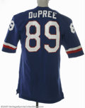 Football Collectibles:Uniforms, Late 1970's Billy Joe DuPree Pro Bowl Game Worn Jersey. A favorite target for Roger Staubach during the Dallas Cowboys' yea...