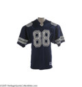 Football Collectibles:Uniforms, 1988 Michael Irvin Game Worn Rookie Jersey.The flamboyant wideout for the Dallas Cowboys was an integral part of three Super...