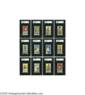 Baseball Cards:Sets, 1909-11 T206 Partial Set (463/521). The most recognizable and beloved of tobacco issues, we could almost forgive the lung c...