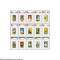 1909-11 T206 White Border Near Complete Set (520) Minus the Big Three. What takes those intrepid few collectors months a...