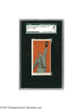 Baseball Cards:Singles (Pre-1930), 1910 Standard Caramel Co. E93 Ty Cobb SGC Good 30. It's little surprise that the Peach is the most valuable card in this th...