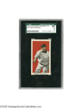 Baseball Cards:Singles (Pre-1930), 1910 Standard Caramel Co. E93 Honus Wagner SGC EX 60. Crane yourneck skyward toward the top of the SGC population chart, a...