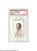 Baseball Cards:Singles (Pre-1930), 1911 M116 Sporting Life Christy Mathewson Pastel Background PSA NM 7. While any issue from the Dead Ball era could be accur...