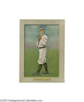Baseball Cards:Singles (Pre-1930), 1911 T3 Turkey Red Cabinets Christy Mathewson. In an era whenbaseball was populated by gruff and grizzled gamblers and alc...