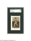 Baseball Cards:Singles (Pre-1930), 1928 Star Player Candy Babe Ruth SGC Fair 20. This scarce issue isshrouded in mystery, with little known about its origins...