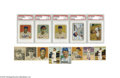 Baseball Cards:Sets, 1948-51 Bowman Baseball Set Run. 1948 Bowman Complete Set (48). One of the first major issues of the post-war era, Bowman ...