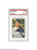 Baseball Cards:Singles (1950-1959), 1952 Bowman Hank Bauer #65 PSA Mint 9. The hero of the clinching game of the 1951 World Series, this Yankee star demonstrat...