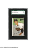 Baseball Cards:Singles (1950-1959), 1952 Bowman Warren Spahn #156 SGC Gem Mint 98. None finer on earth.Check the population reports on the SGC website and yo...