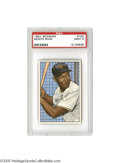 Baseball Cards:Singles (1950-1959), 1952 Bowman Monte Irvin #162 PSA Mint 9. The Negro League superstarwas thirty years old when he finally got his shot in th...