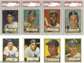 Baseball Cards:Sets, 1952 Topps Baseball Complete Set (407). The 1952 Topps set was thelargest set of its day, both in number and size of the c...