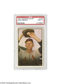 Baseball Cards:Singles (1950-1959), 1953 Bowman Color Alpha Brazle #140 PSA Mint 9. Only a single other representation on earth could stand shoulder to shoulde...