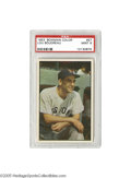 Baseball Cards:Singles (1950-1959), 1953 Bowman Color Lou Boudreau #57 PSA Mint 9. One of only threefrom this fan favorite set to achieve a Mint 9 ranking fro...