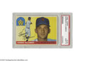 Baseball Cards:Singles (1950-1959), 1955 Topps Harmon Killebrew #124 PSA Mint 9. From an issue famousfor its important Clemente and Koufax rookies comes yet a...