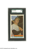 Baseball Cards:Singles (1950-1959), 1959 Bazooka Mickey Mantle SGC NM/MT 88. Simply the finest suchcard ever graded by SGC, one of only two representations to...