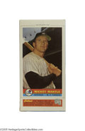 Baseball Cards:Singles (1950-1959), 1959 Bazooka Mickey Mantle Complete Box. Among the most difficultof the decade's card issues (and of Mickey's as well) is ...