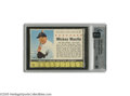 Baseball Cards:Singles (1960-1969), 1961 Post Cereal Mickey Mantle GAI Mint 9. Spectacular specimen wasa fine introduction for the GAI population reports, as ...