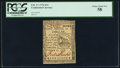 Colonial Notes:Continental Congress Issues, Continental Currency February 17, 1776 $1/6 PCGS Choice About New 58.. ...