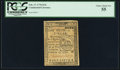 Colonial Notes:Continental Congress Issues, Continental Currency February 17, 1776 $1/6 PCGS Choice About New 55.. ...