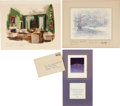 Political:Small Paper (1896-present), John F. Kennedy et al: White House Christmas Card Collection....